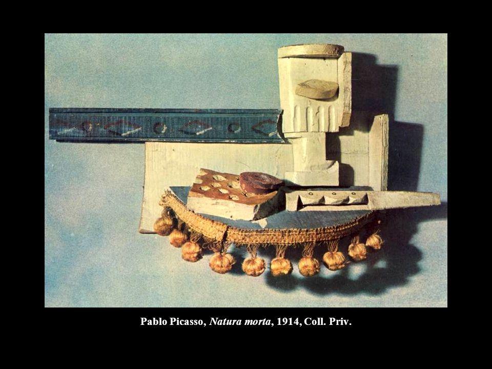 Pablo Picasso, Natura morta, 1914, Coll. Priv.