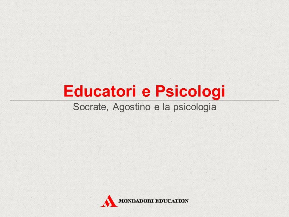 Socrate, Agostino e la psicologia