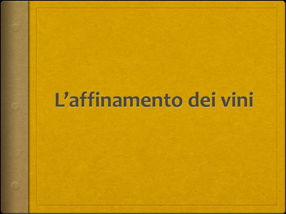 La Stabilità del Vino Trascorso il necessario periodo di maturazioni, quando il vino viene ritenuto pronto prima dell'imbottigliamento, e sottoposto a controlli organolettici per verificare se possiede tutti i requisiti ottimali.