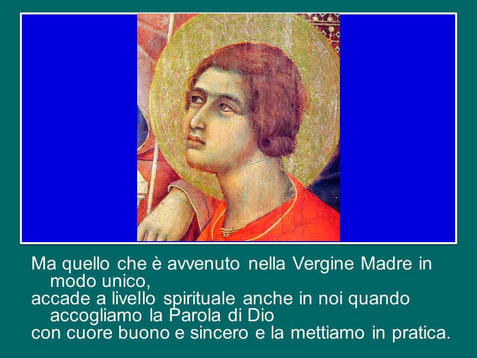 """Che Dio non ha voluto farsi uomo ignorando la nostra libertà, ha voluto passare attraverso il libero assenso di Maria, attraverso il suo """"sì"""". Le ha c"""