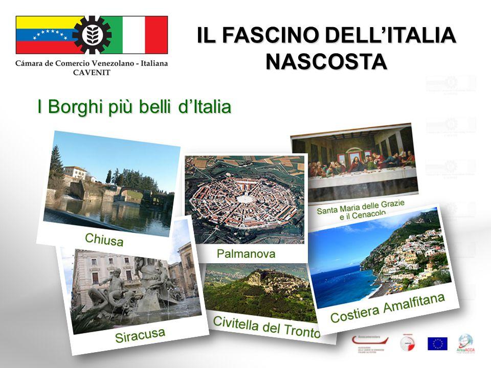IL FASCINO DELL'ITALIA NASCOSTA I Borghi più belli d'Italia