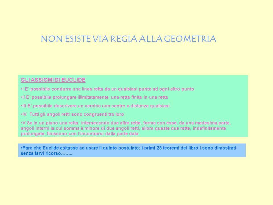 MODELLO DI POINCARE' PER UNA GEOMETRIA IPERBOLICA Poincaré presentò il suo modello sotto forma di racconto di fantasia nel suo libro La Scienza e l'Ipotesi del 1902: Sia dato, da qualche parte del piano euclideo, un cerchio euclideo C di raggio R abbastanza grande da permettere che nel suo interno viva una vasta popolazione di esseri bidimensionali.