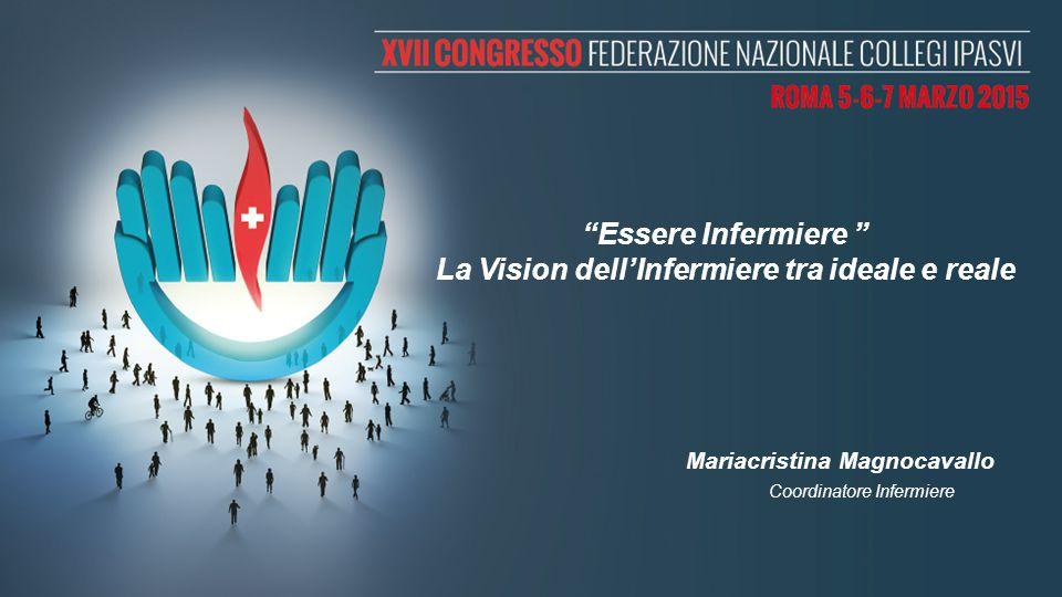 """""""Essere Infermiere """" La Vision dell'Infermiere tra ideale e reale Mariacristina Magnocavallo Coordinatore Infermiere"""