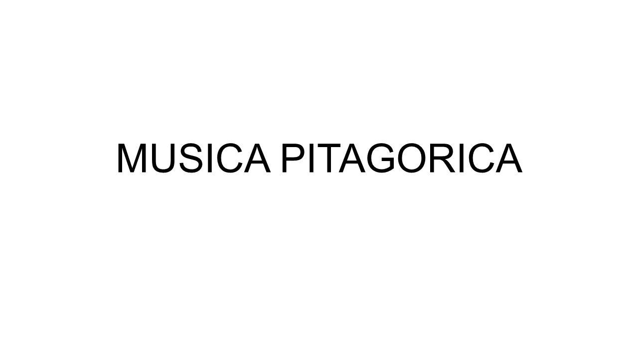 MUSICA PITAGORICA