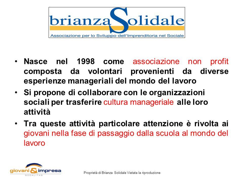 Proprietà di Brianza Solidale Vietata la riproduzione Le competenze, le idee e le motivazioni saranno sempre più le componenti fondamentali del valore d'impresa.