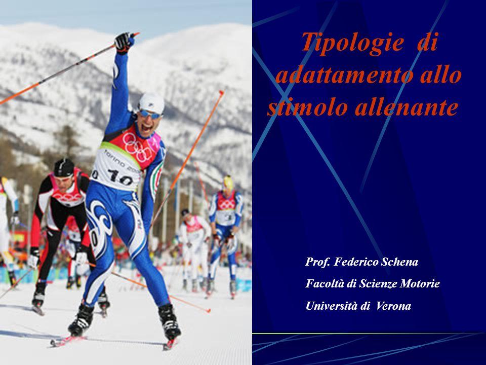 Tipologie degli adattamenti Anatomico - strutturale (massa e dimensione ) Ultrastrutturale (tipi di fibre, concentr.