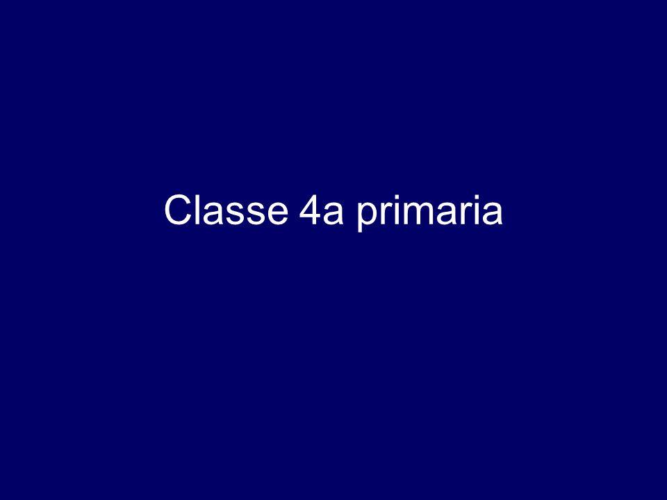 Classe 4a primaria