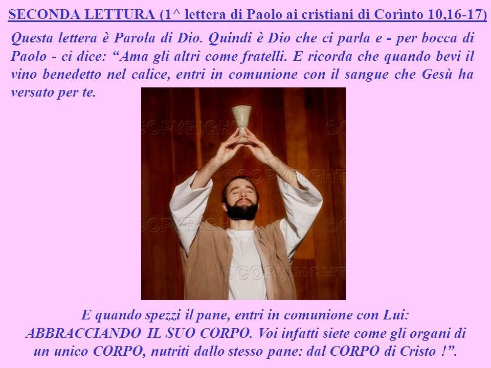 SALMO RESPONSORIALE (Salmo 147,12-15;19-20) Questo salmo è Parola di Dio.