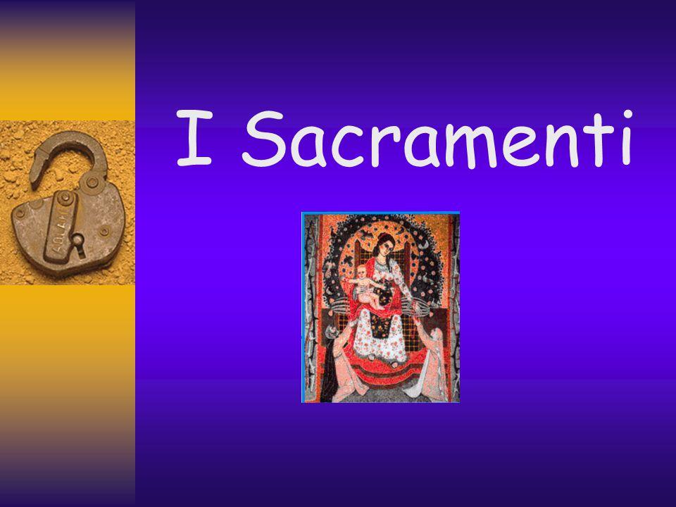 Un settore essenziale della liturgia è la celebrazione dei sette sacramenti.