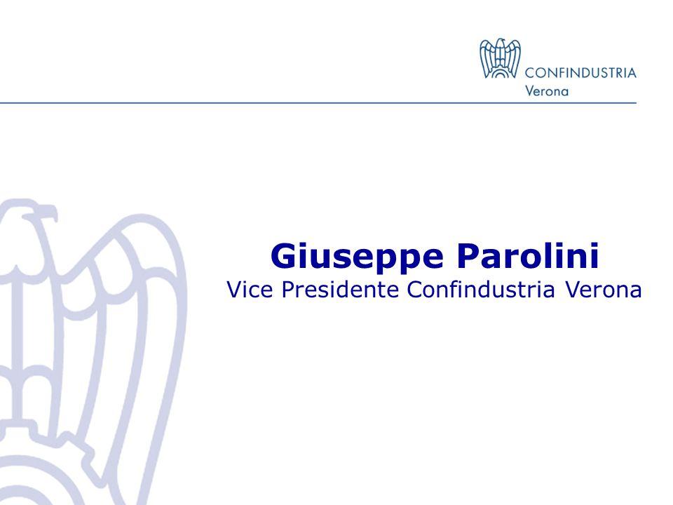 Giuseppe Parolini Vice Presidente Confindustria Verona