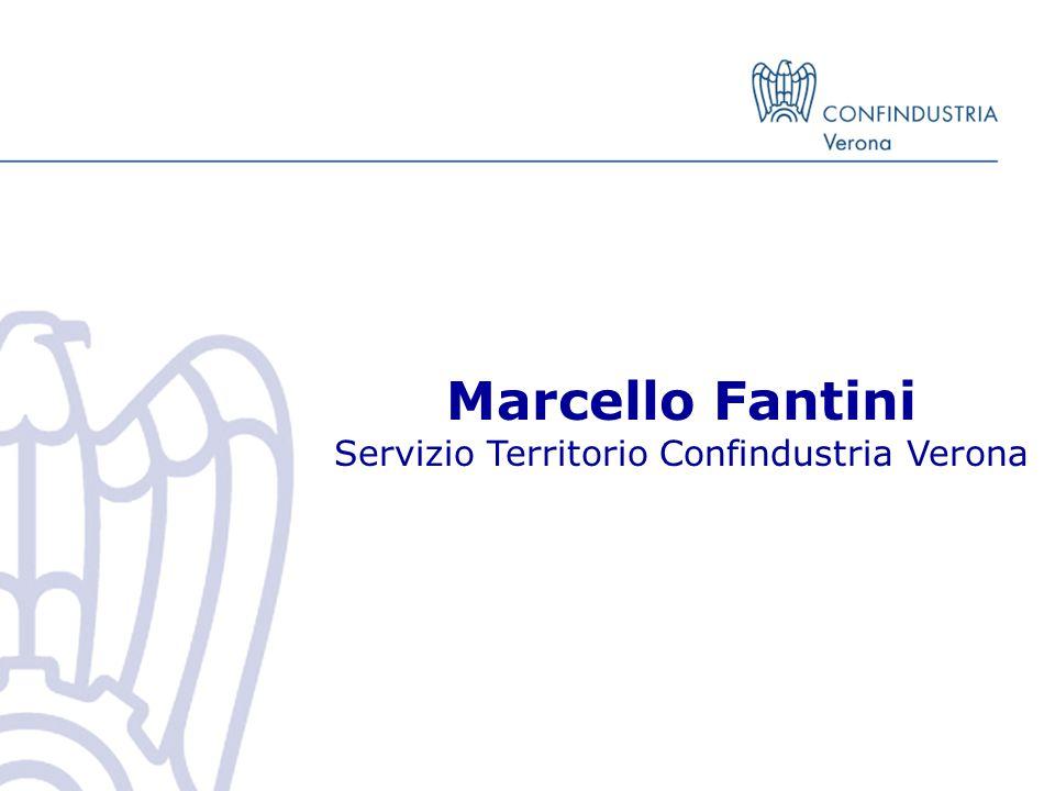 Marcello Fantini Servizio Territorio Confindustria Verona