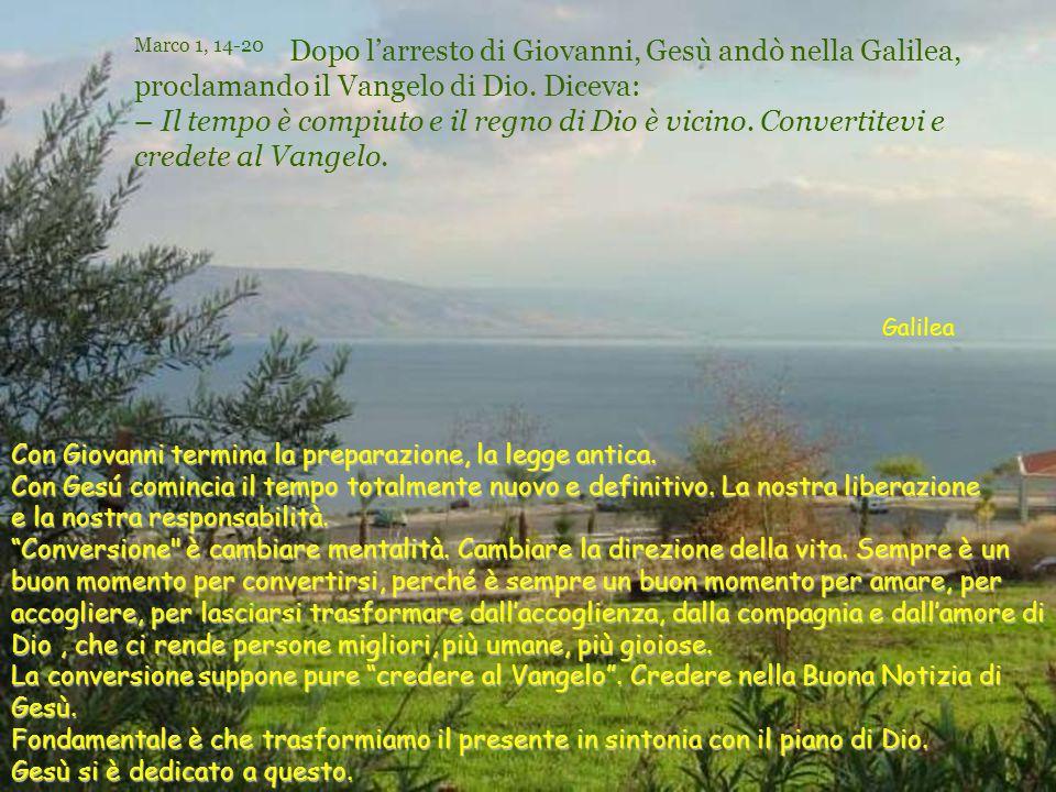 Testo: Marco 1, 14-20- Tempo Ordinario 3 –B- Commenti e presentazione: Asun Gutiérrez.