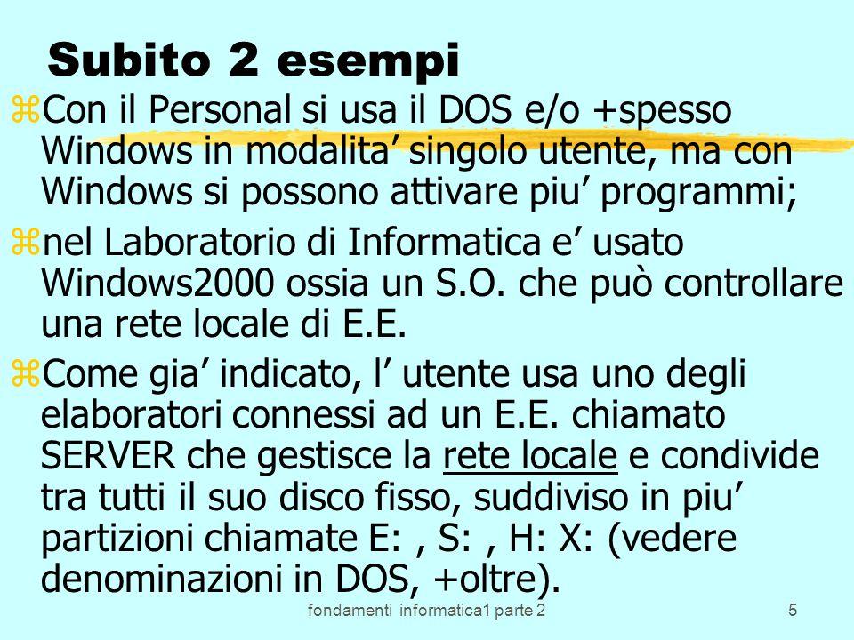 fondamenti informatica1 parte 276 cin, cout, cerr.