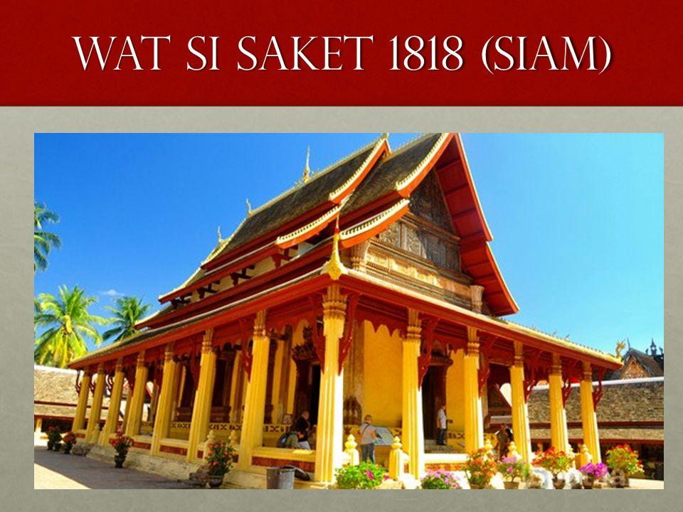 Wat si saket 1818 (siam)