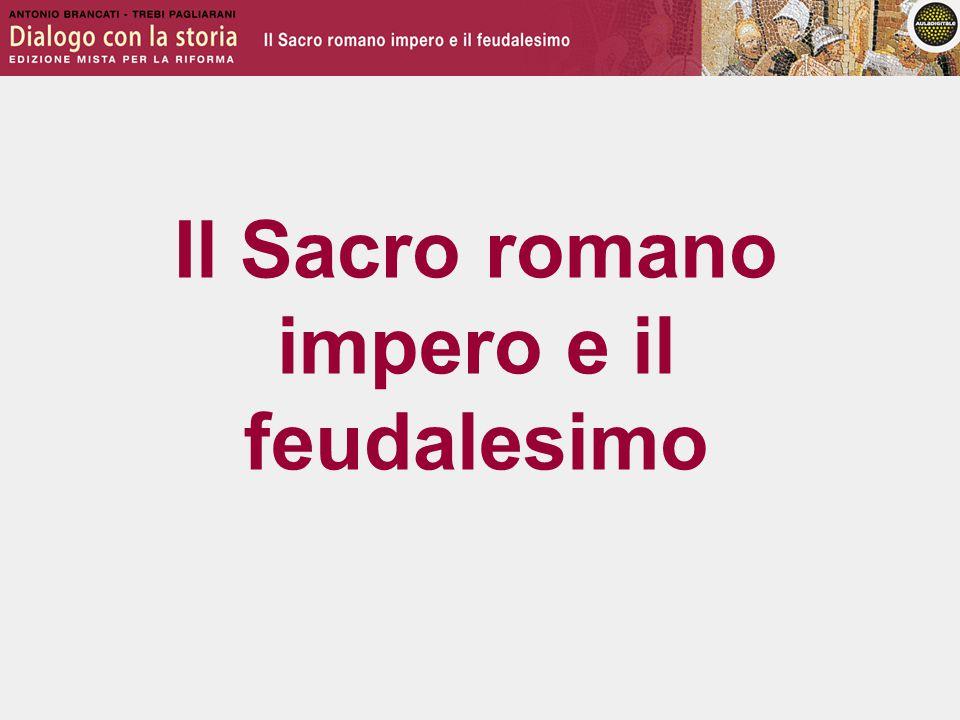 L'impero dopo Carlo Magno Alla morte di Carlo Magno l'impero si disgrega e si impone un sistema politico, economico e sociale di tipo feudale.