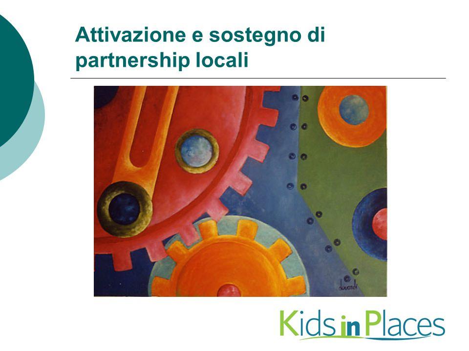 Attivazione e sostegno di partnership locali