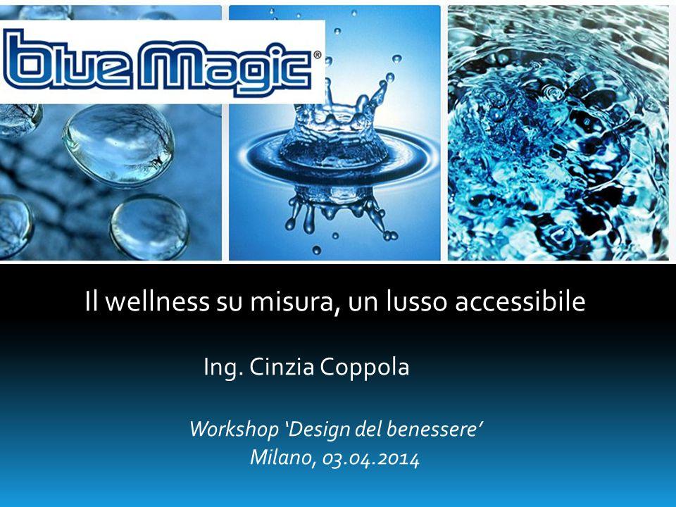 Il wellness su misura, un lusso accessibile Ing. Cinzia Coppola Workshop 'Design del benessere' Milano, 03.04.2014