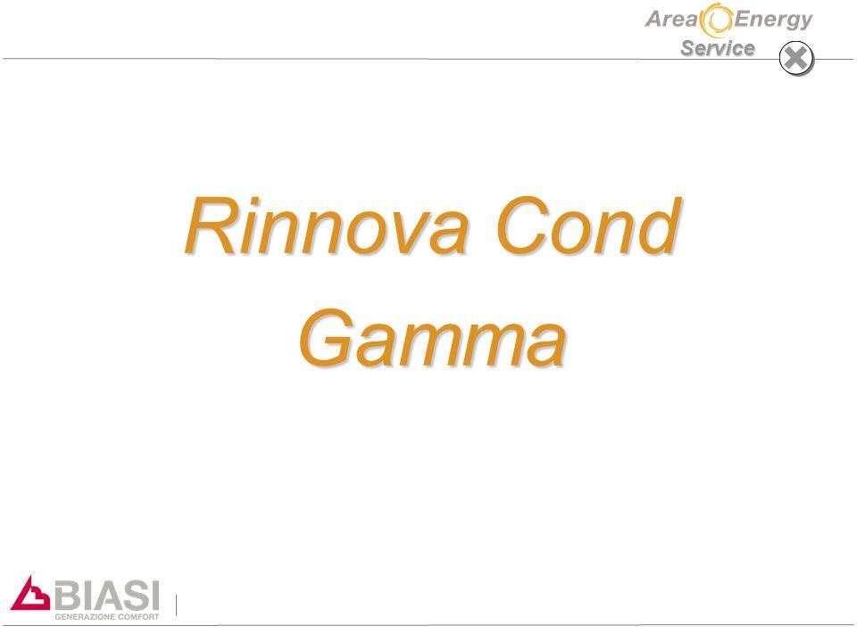 Service Rinnova Cond Gamma