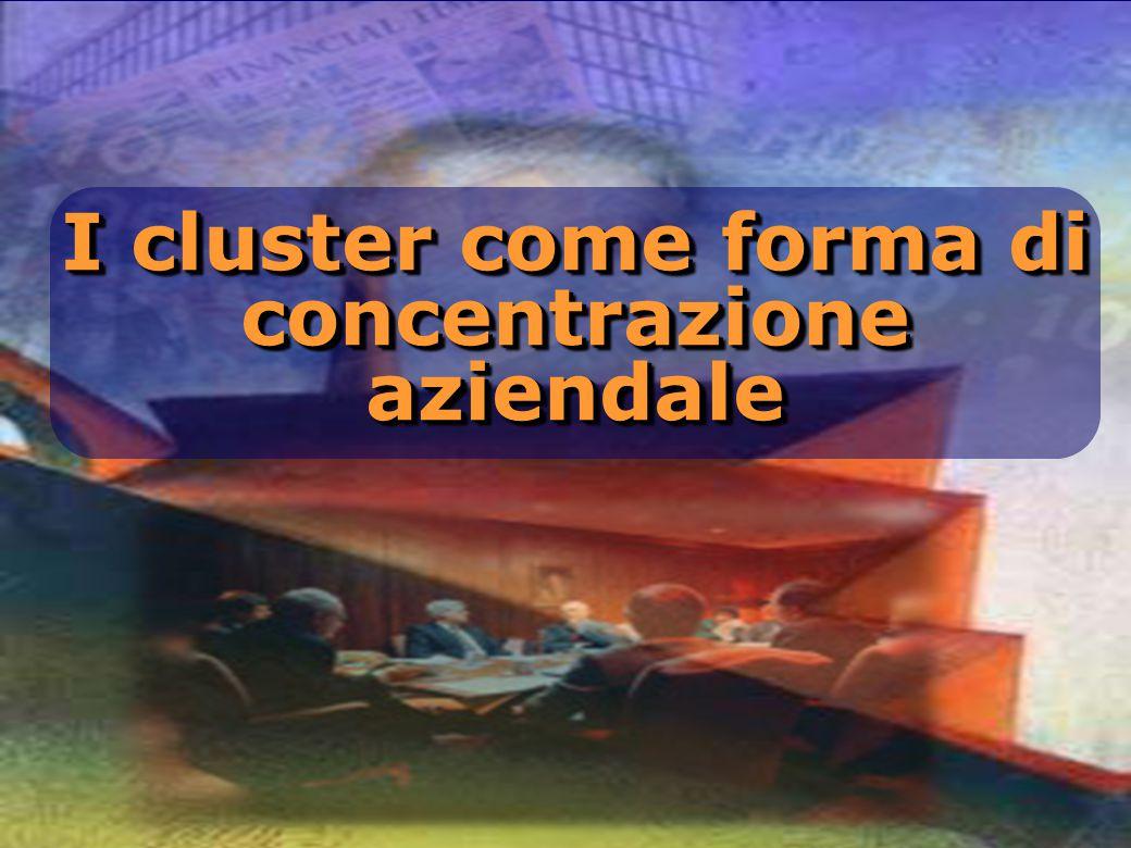 I cluster come forma di concentrazione aziendale