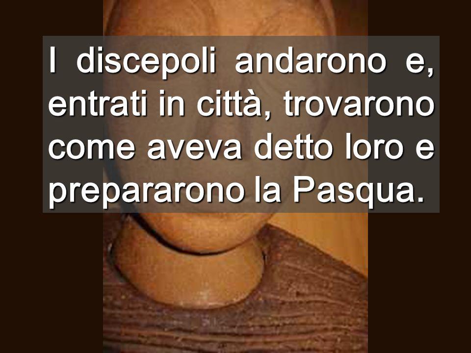 In ogni città ci sono CENACOLI, bisognosi di condividere cene Per mangiare l'AGNELLO, bisogna stare insieme...