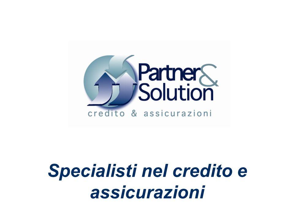 Specialisti nel credito e assicurazioni