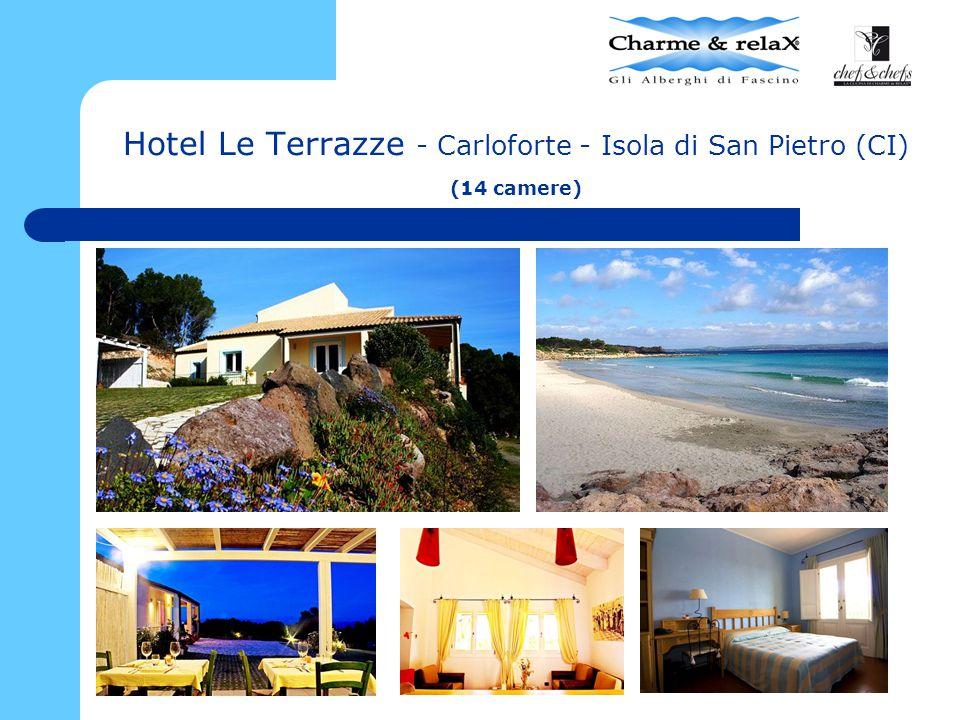 Hotel Le Terrazze - Carloforte - Isola di San Pietro (CI) (14 camere)