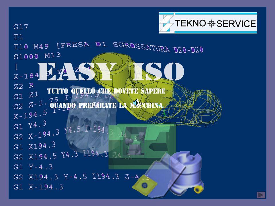 Codificare un programma Codificare un programma significa abbinare ad un file che contiene un programma ISO dei campi codici o chiavi di ricerca ( n° di disegno, nome del cliente, fase di lavorazione ecc.) attraverso i quali sarà poi possibile ricercarlo.