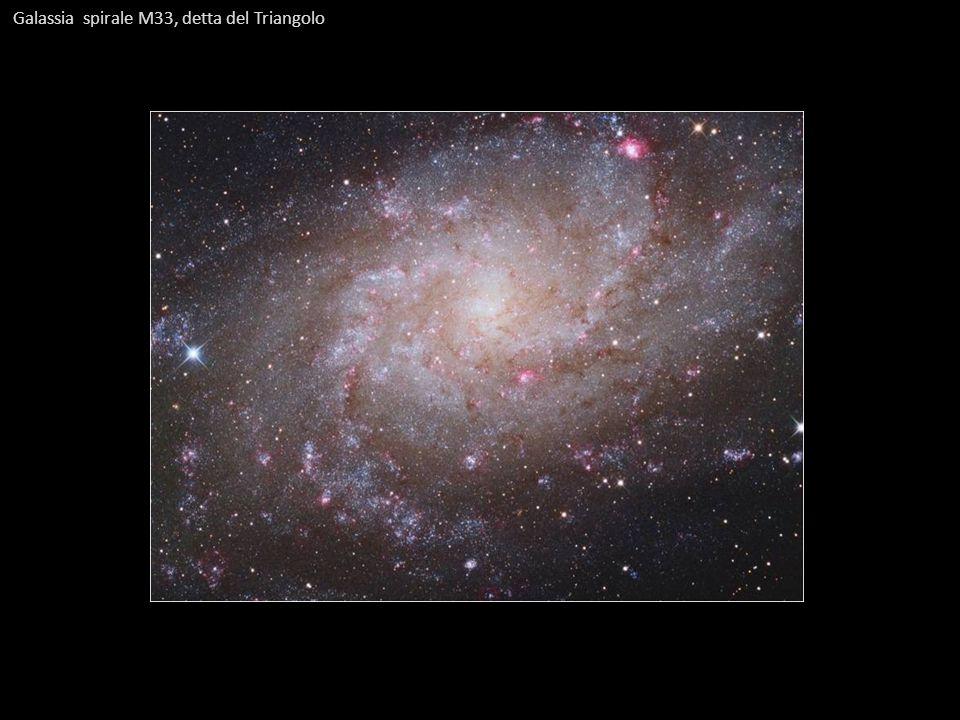 Galassia spirale M33, detta del Triangolo