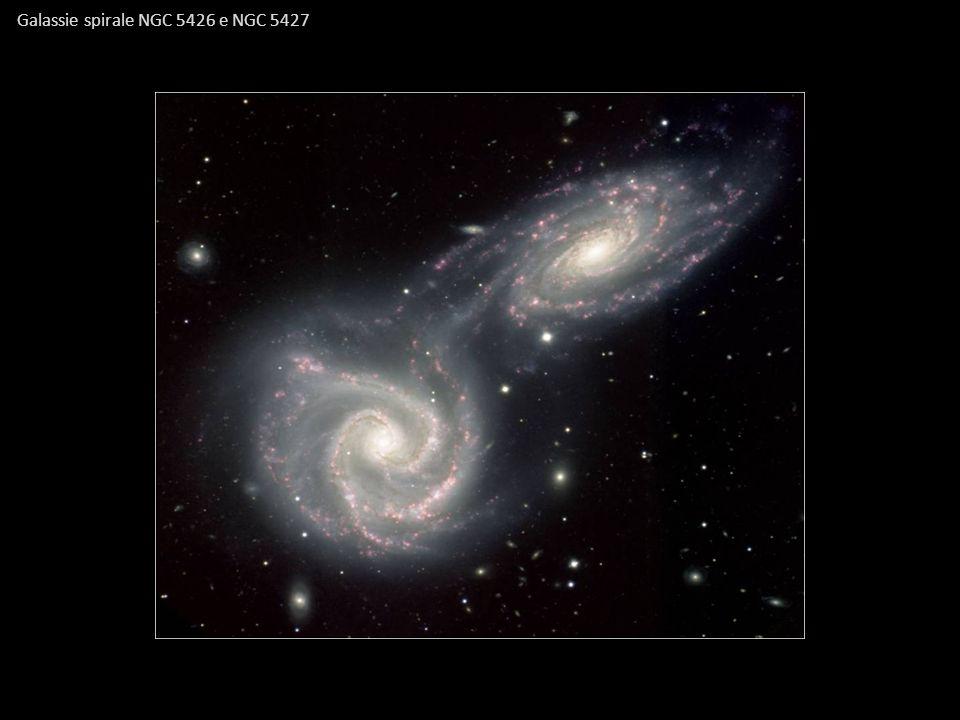 Galassie spirale NGC 5426 e NGC 5427
