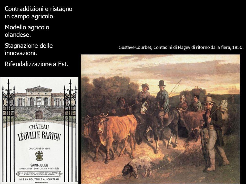 Gustave Courbet, Contadini di Flagey di ritorno dalla fiera, 1850.
