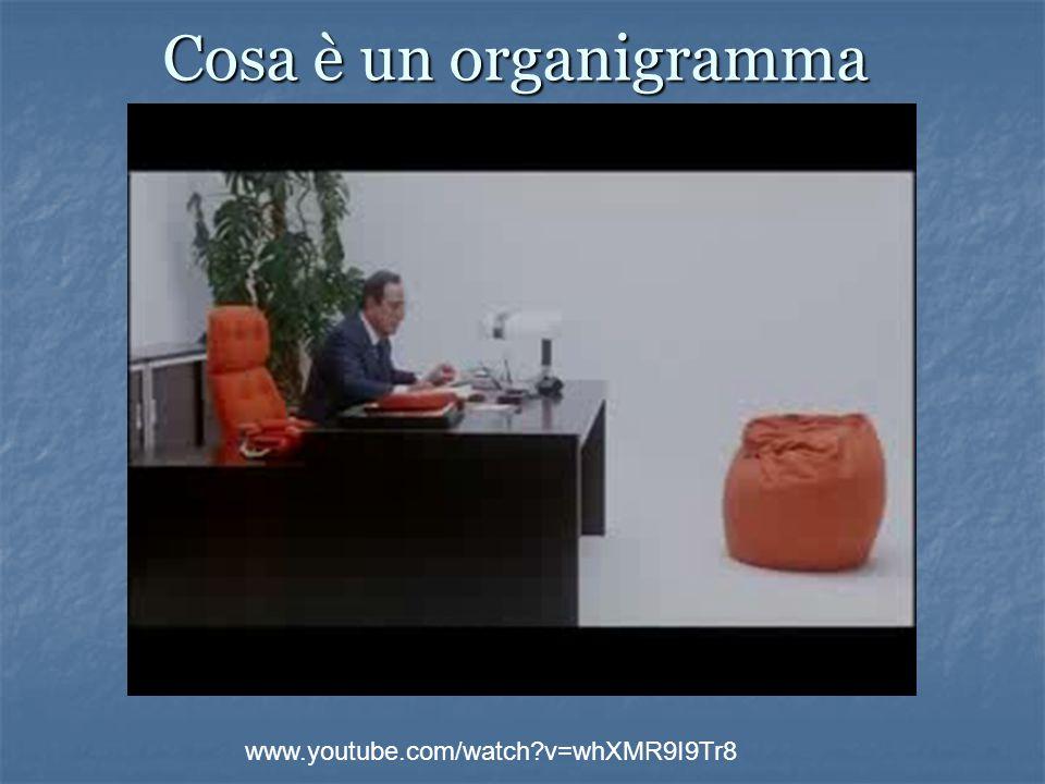 Cosa è un organigramma www.youtube.com/watch v=whXMR9I9Tr8