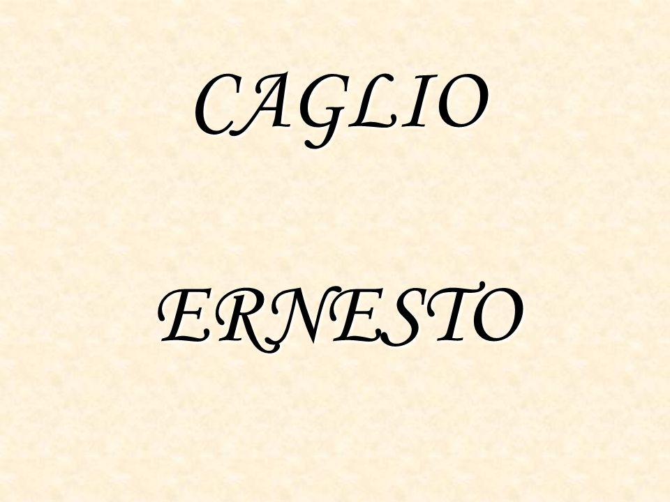 CAGLIO ERNESTO