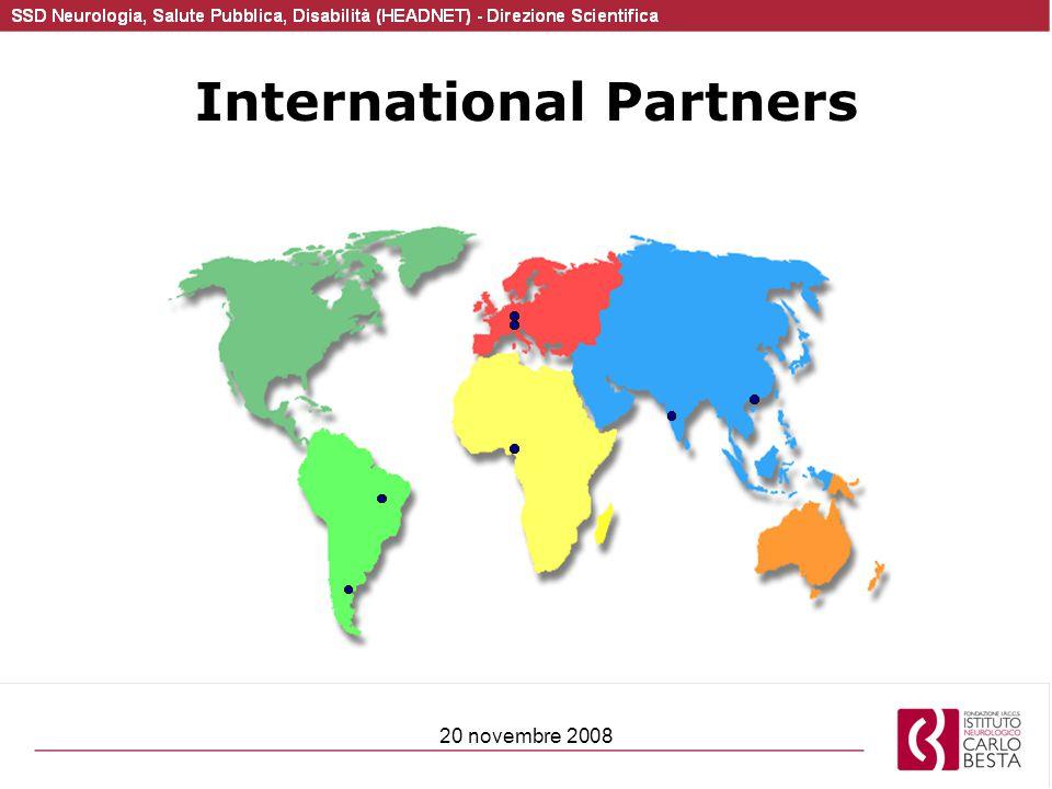 20 novembre 2008 International Partners