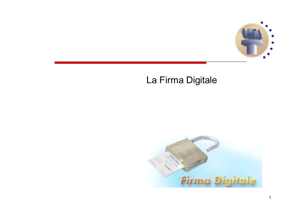 1 La Firma Digitale