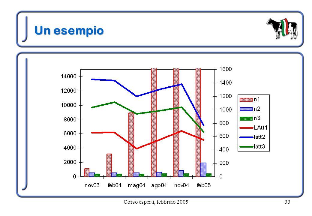 Corso esperti, febbraio 200533 Un esempio