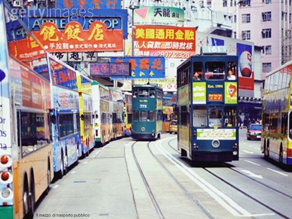 Il mezzo di trasporto pubblico
