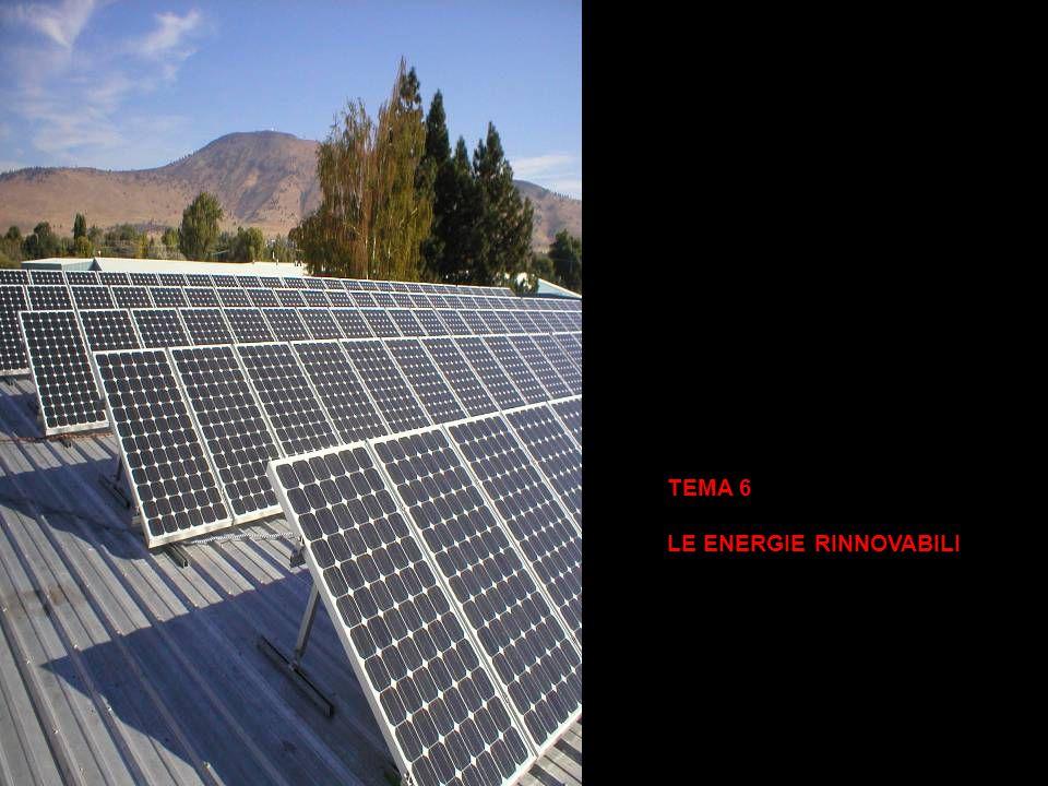 TEMA 6 LE ENERGIE RINNOVABILI
