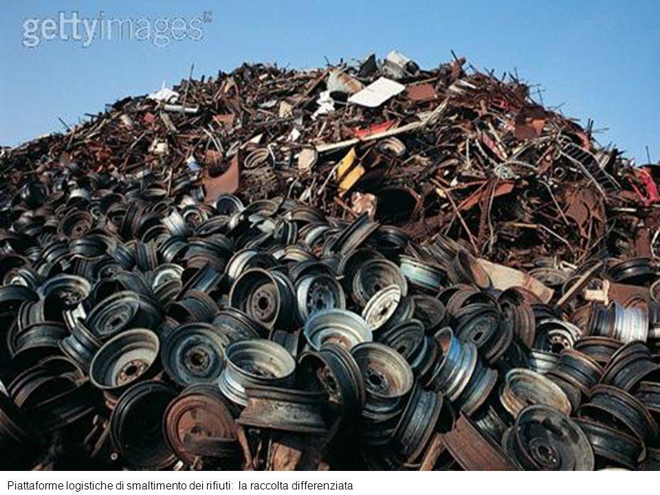 Piattaforme logistiche di smaltimento dei rifiuti: la raccolta differenziata