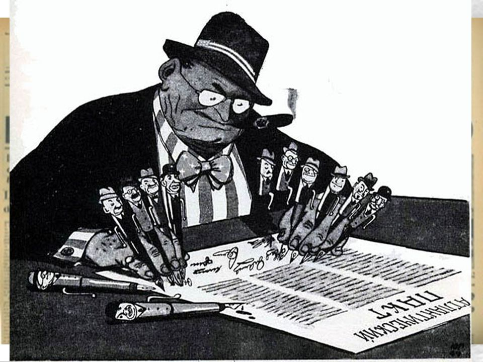 Verso il bipolarismo militarizzato 15 QUINDI: una sconfitta delle libere istituzioni in qualsiasi luogo è una sconfitta ovunque Torna ad affacciarsi la lezione di Monaco (1938): ogni cedimento contingente al totalitarismo è un cedimento in ogni luogo Soluzione: rapido aumento della forza politica, economica e militare degli Usa e degli aleati (gli USA dedicavano il 6% del PIL agli armamenti, l'URSS i 14%.