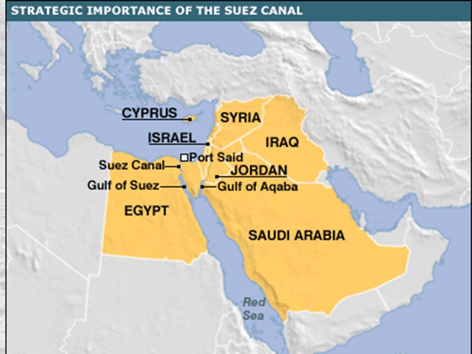 Le due crisi del 1956 46 Nasser, presidente dell'Egitto, portavoce del nazionalismo arabo anti- e post-coloniale Progressivo avvicinamento a Mosca, che può fornire armi, tecnologia, materiali per lo sviluppo In luglio viene nazionalizzato il canale di Suez.
