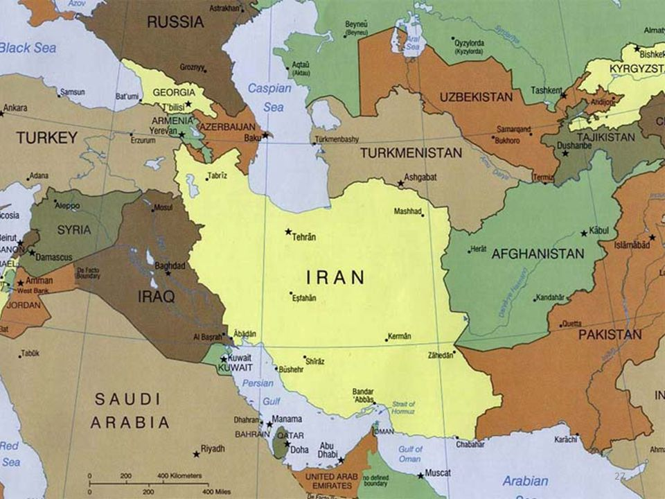La Rivoluzione in Iran Il deterioramento del clima e del dialogo est- ovest sarebbe stato acuito da un evento di portata epocale proprio perché estraneo alla logica della Guerra Fredda 27