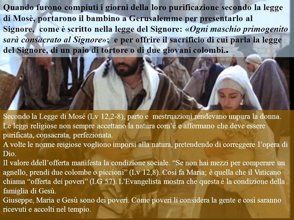 Testo: Luca 2, 22-40. La Sacra Famiglia–B- 28-12-14. Commenti e Presentazzione: M.Asun Gutiérrez. Testo: Luca 2, 22-40. La Sacra Famiglia–B- 28-12-14.