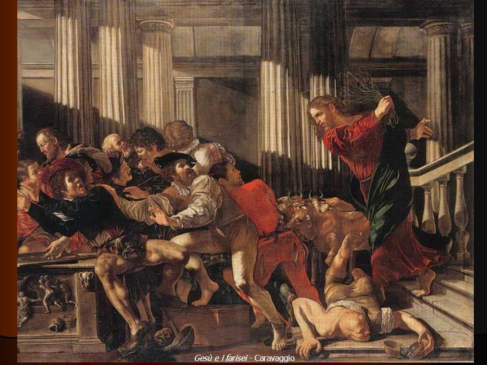 Gesù e i farisei - Caravaggio