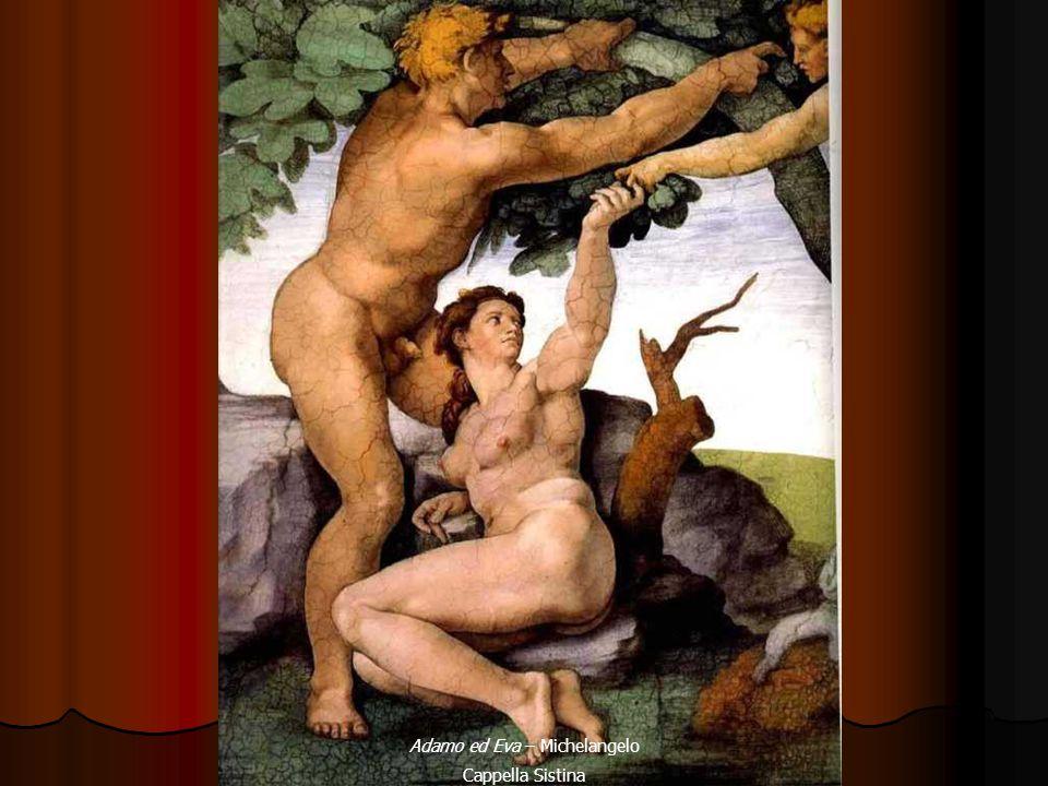 Adamo ed Eva – Michelangelo Cappella Sistina