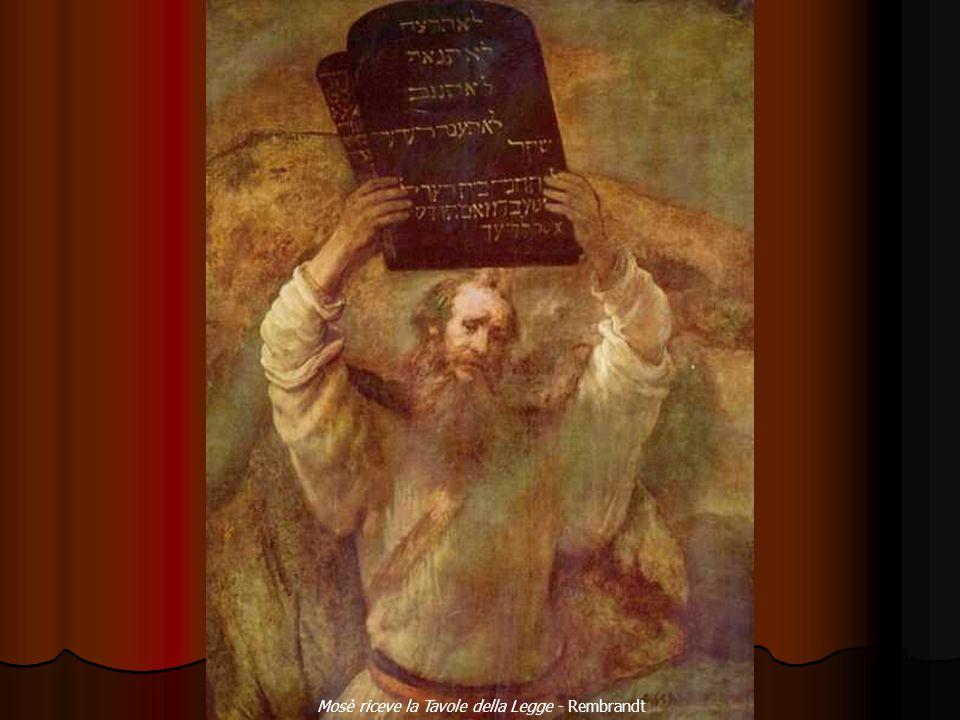 Mosè riceve la Tavole della Legge - Rembrandt