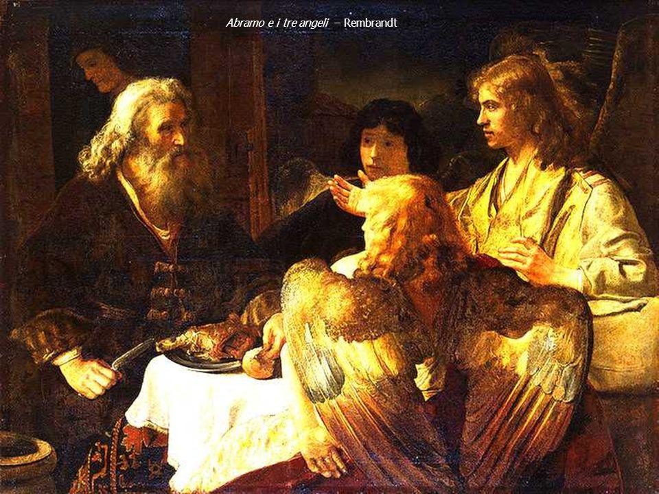 Abramo e i tre angeli – Rembrandt