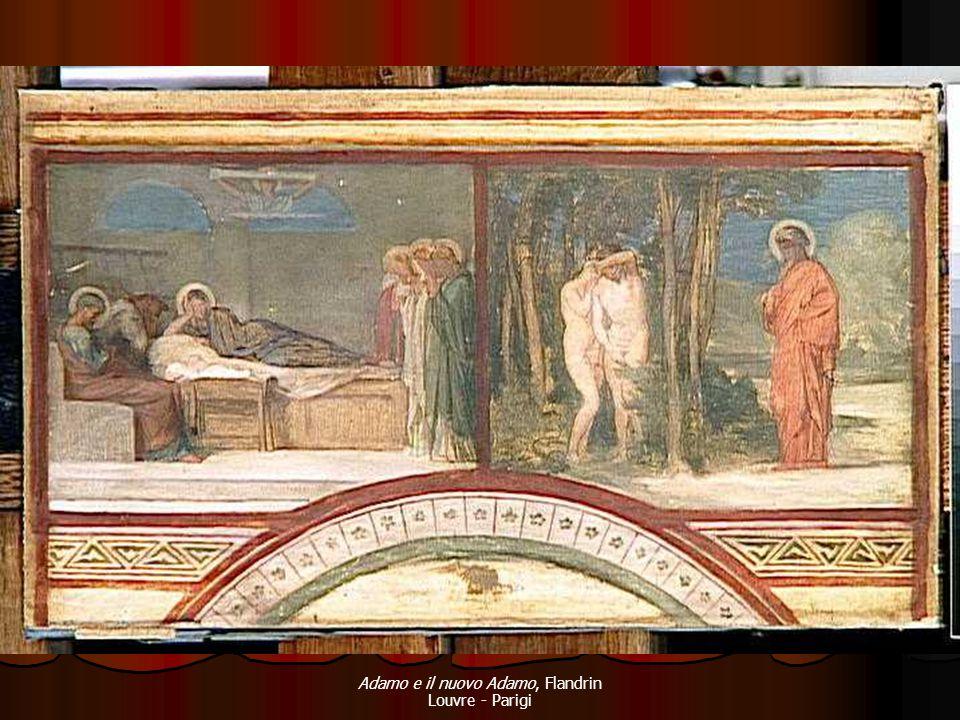 Adamo e il nuovo Adamo, Flandrin Louvre - Parigi