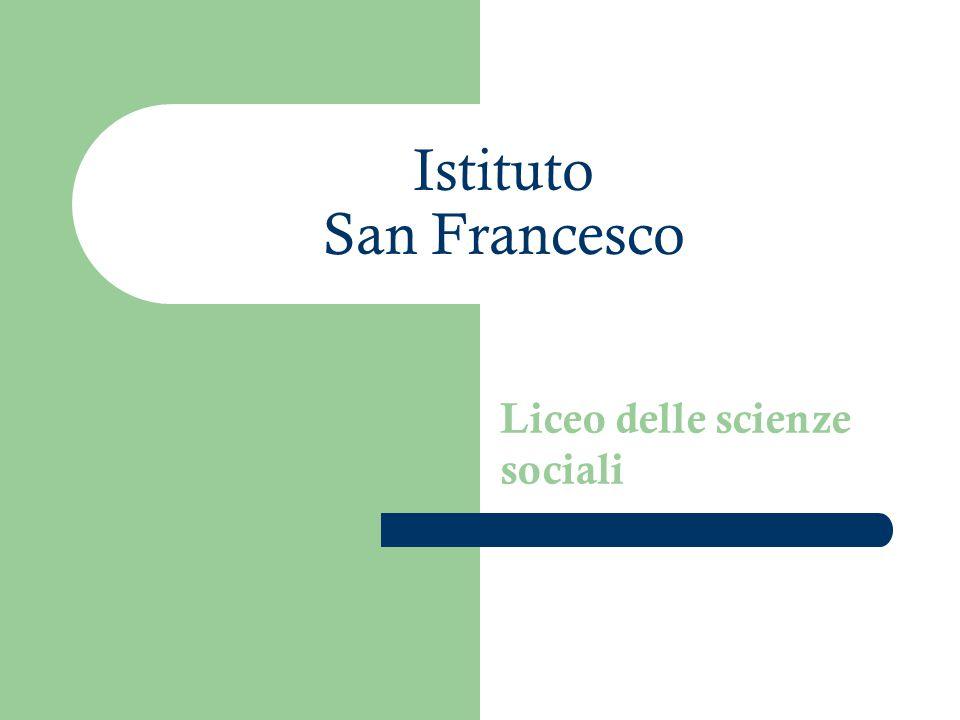 Istituto San Francesco Liceo delle scienze sociali
