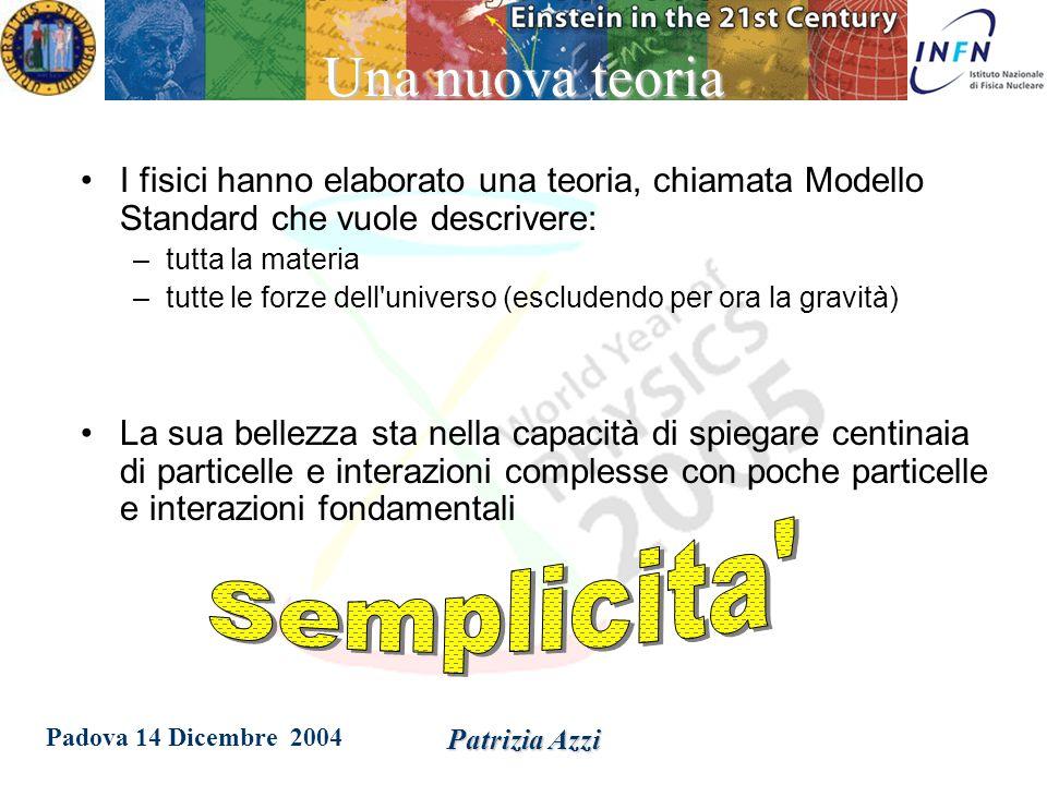 Padova 14 Dicembre 2004 Patrizia Azzi Dove sono i quarks.