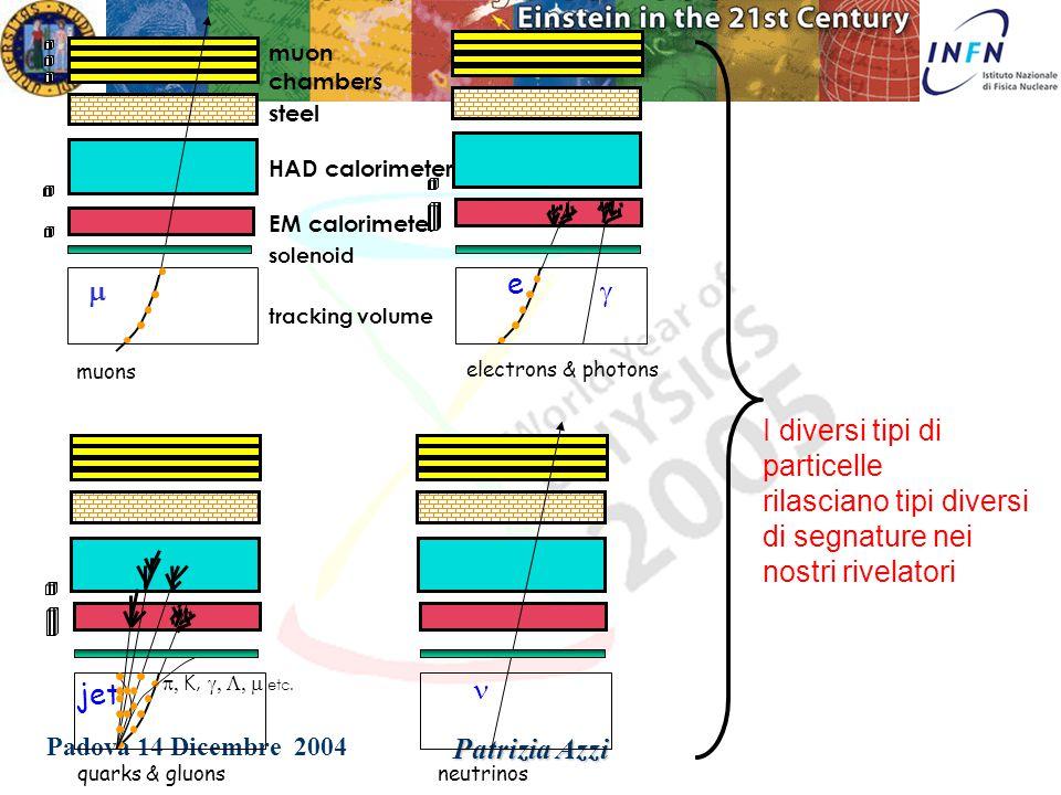Padova 14 Dicembre 2004 Patrizia Azzi Collider Detector at Fermilab